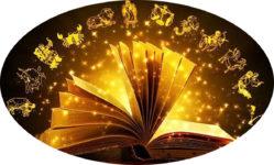 Книга с гороскопами