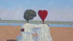 Сердце и мозг у моря