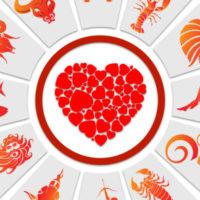 Сердце в зодиакальном круге