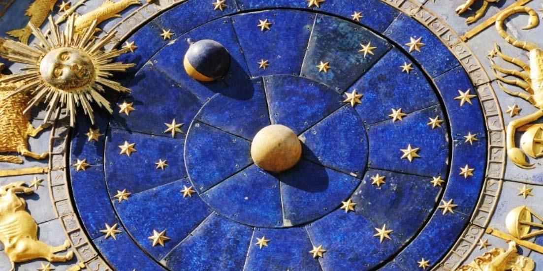 Красивый круг зодиака