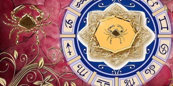 Символ Рака в зодиакальном круге