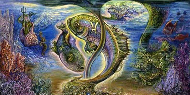 Красивый знак Рыбы