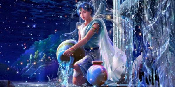 Женщина льет воду из кувшина