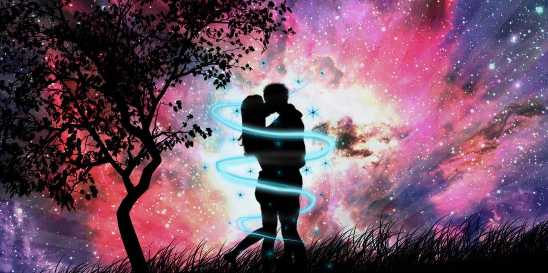 Энергия любви сходится воедино