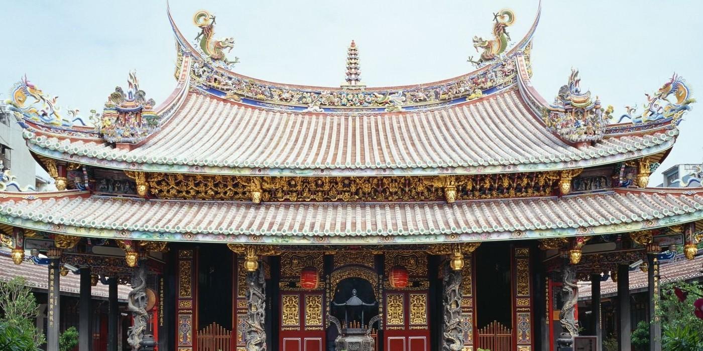 Китайский монастрь