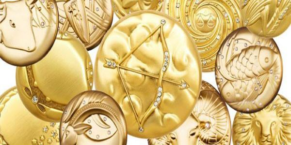 Монеты из знаков гороскопа