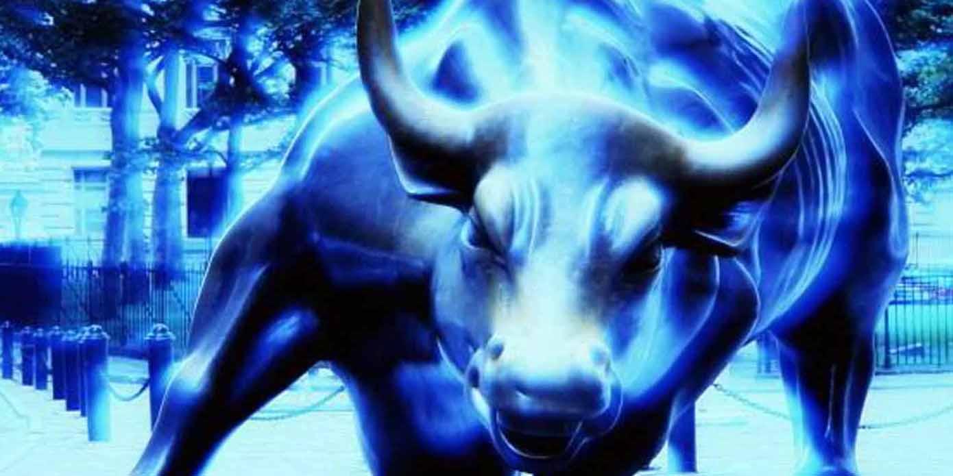 Сине-черный Теленок