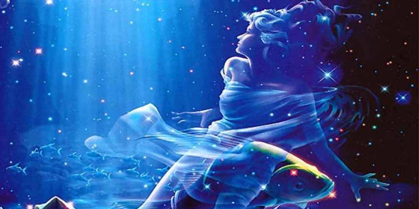 Рыбы в просветленной воде, красиво