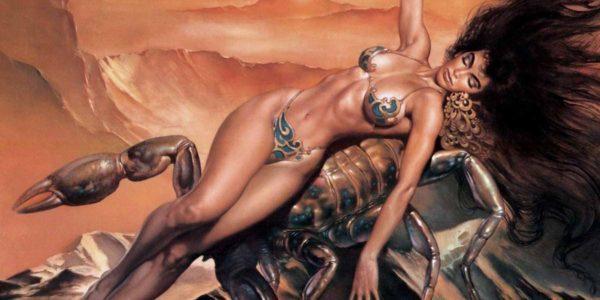 Женщина на Скорпионе