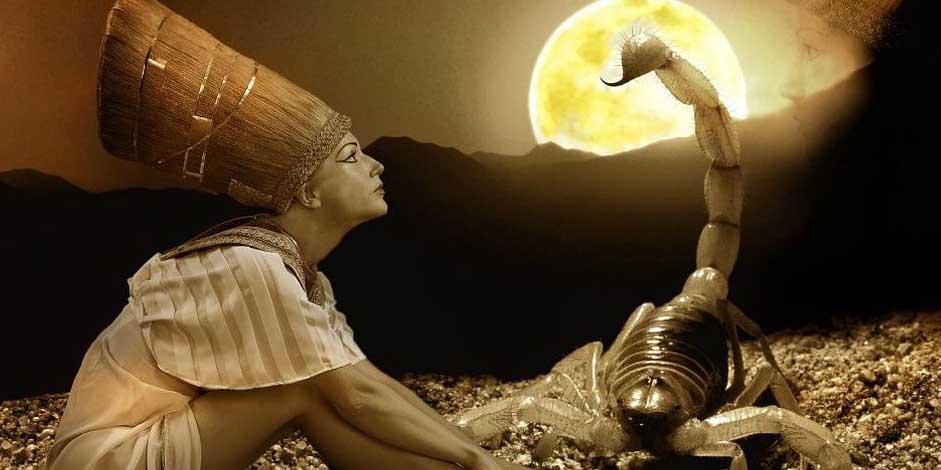 Клеопатра со Скорпионом