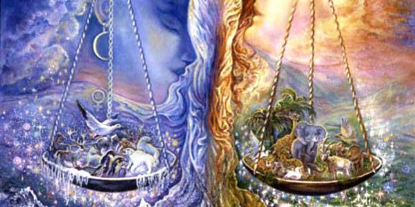 Весы огонь и вода равновесие