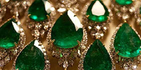 Ожерелье с Изумрудом